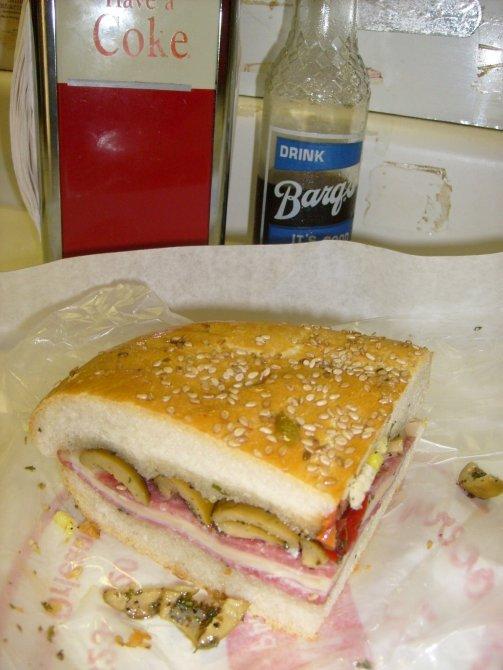 A Gabagool Sandwich