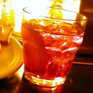 """A PROPER NEGRONI IS NEVER On The ROCKS ...THAT'S For AMATEURS"""