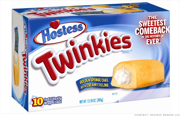 RETURN of THE TWINKIE TODAY JULY 15, 2013