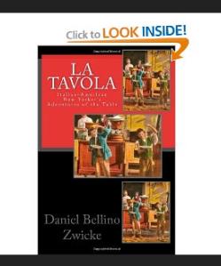 "Read About Italian-American New York & New Jersey in SICILIAN AMERICAN NEW YORKER'S Danile Bellino-Zwicke's ""La TAVOLA"""