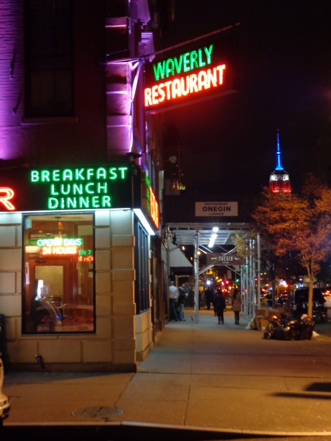 The WAVERLY DINER GREENWICH VILLAGE