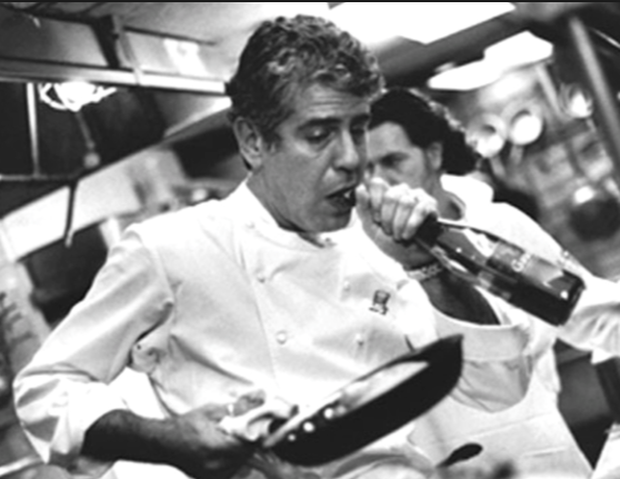 Exceptionnel Who Is Anthony Bourdain U0027s Bigfoot In Kitchen Confidential